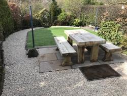 Garden Lighting Installed in conjunction with Springfield Landscapes in Edinburgh.